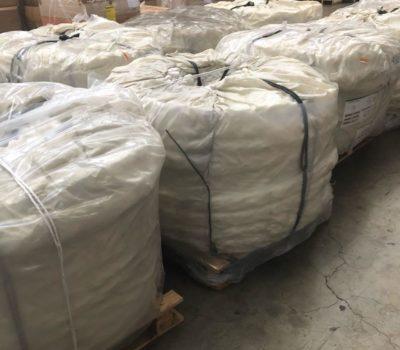Air freight shipment (g/w 5966 kg)